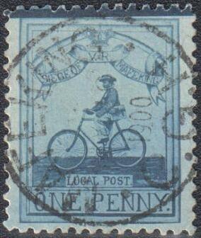 MAFEKING 1900 - Búrska vojna - obliehanie Mafekingu 1900 (cyklista)