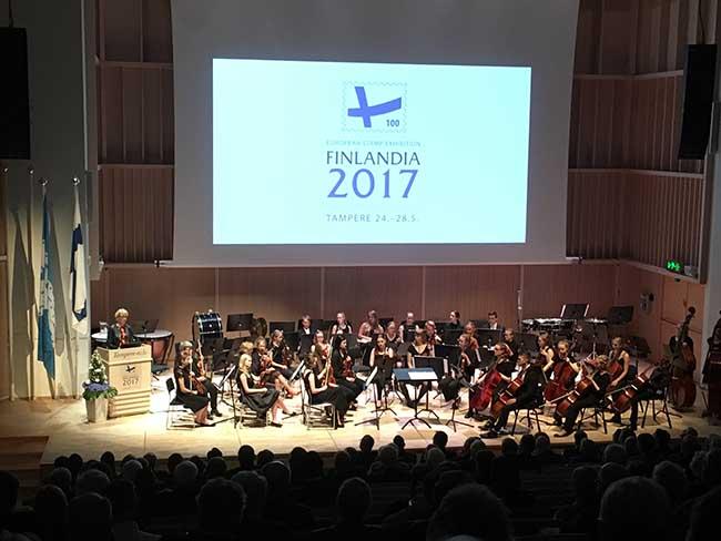Filatelistick� v�stava FINLANDIA 2017