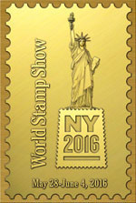 Svetová výstava WORLD STAMP SHOW NEW YORK 2016