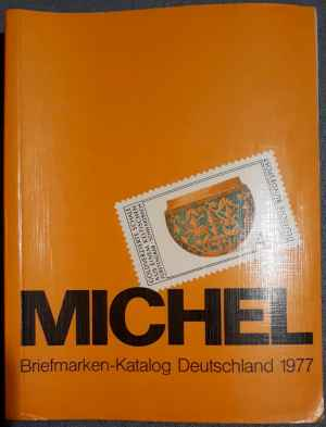 MICHEL: Briefmarken-Katalog Deutschland 1977