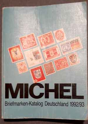 MICHEL: Briefmarken-Katalog Deutschland 1992/93