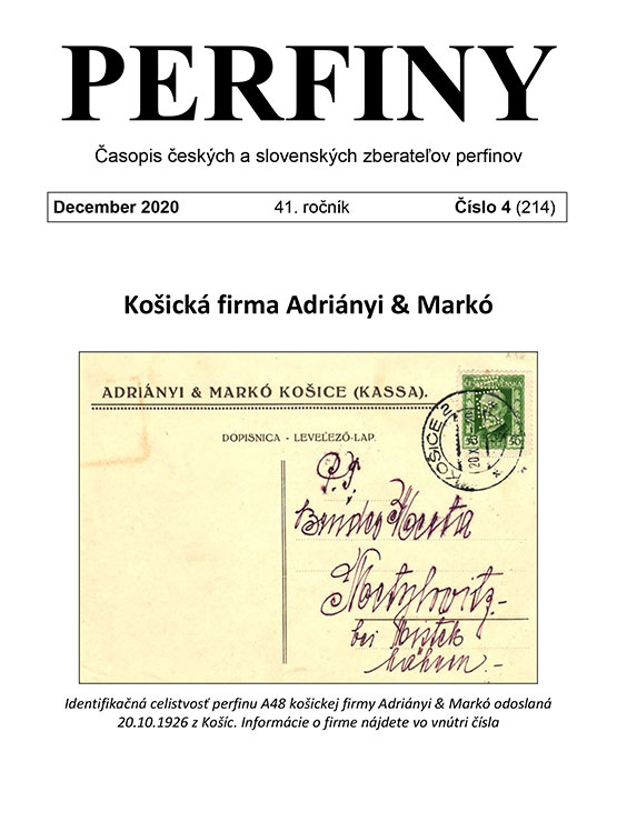 PERFINY - Časopis českých a slovenských zberateľov perfinov