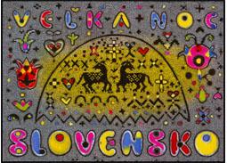 Celinová pohľadnica Veľká noc 2013: Ľudové motívy v diele Ľudovíta Fullu