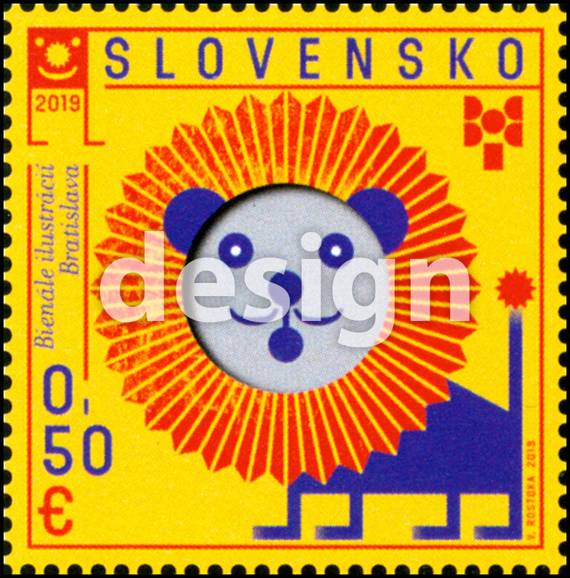 Postage Stamp Biennial of Illustrations Bratislava 2019 (Original artwork)
