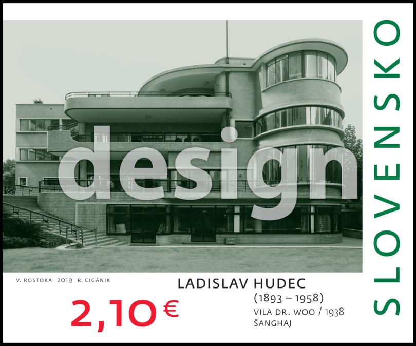 624a9c9dd Poštovní známka Umění: Ladislav Hudec (1893 – 1958) - Vila Dr. Woo