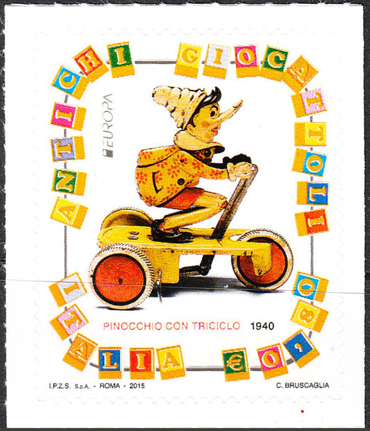 Pinocchio on the Tricycle