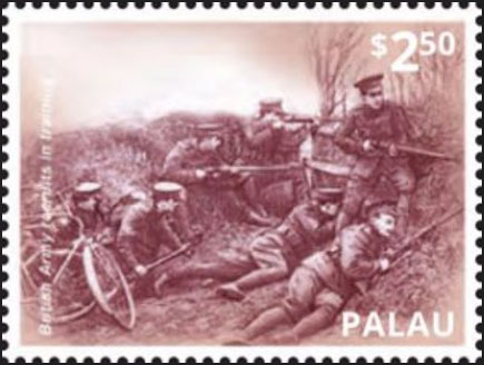 Soldiers with Bicycles