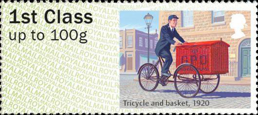Tricycle and Basket 1920