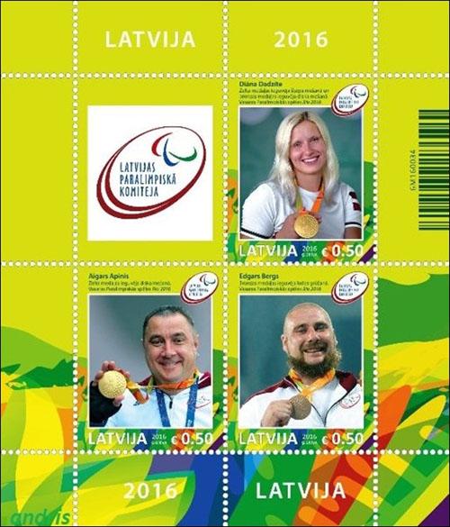 Po�tov� zn�mka Letn� olympijsk� hry RIO 2016