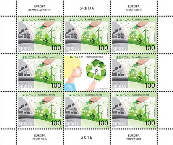 Joint EUROPA 2016 issue series - Ecology in Europe - think green!
