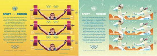 Poštová známka Letné olympijské hry RIO 2016