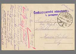 101 Years since the Renaming of Prešporok to Bratislava (1st Battalion of the Czechoslovak Navy - Field Post 1919)
