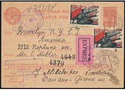 2. svetová vojna aSovietsky zväz v zrkadle poštovej histórie