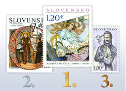 Results of the public poll for the most beautiful Slovak stamp of 2015