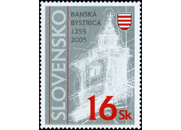 Banska Bystrica in postal services and philately III.