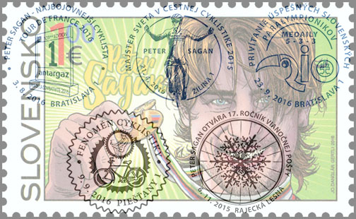 Thematic Philately An unexpectedly rich cycling year in Slovak philately