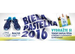 Matej Tóth - ambasádor verejnej zbierky Biela pastelka na podporu ľudí s ťažkým zrakovým postihnutím