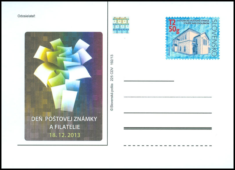 Day of postage stamp and philatelie 2013