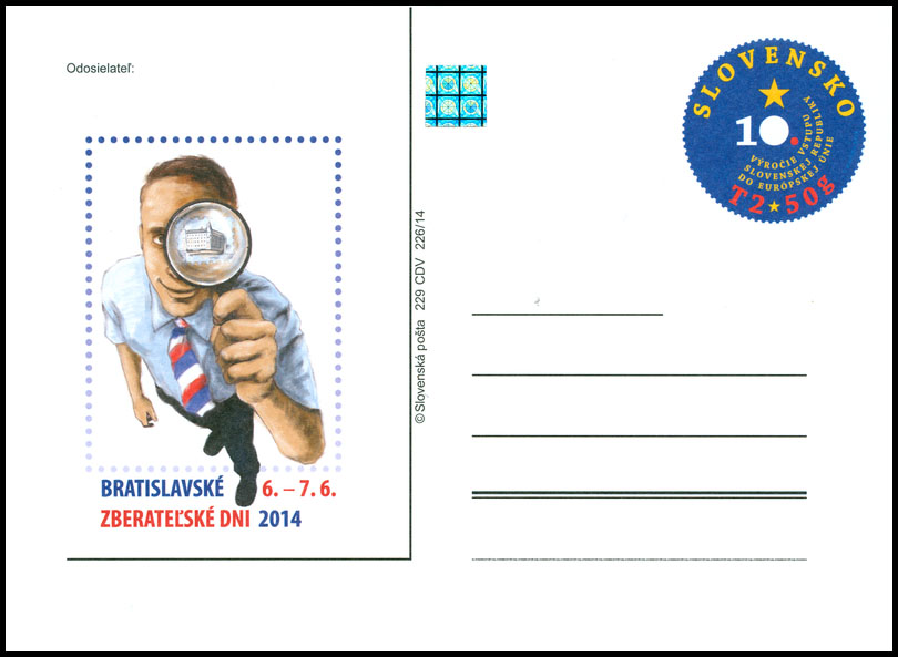 Bratislava Collectors Days 2014 (10th anniversary of entering the Slovak Republic to the European Union)