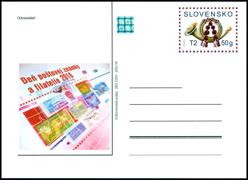 70f310fc1c343 Vydané a pripravované poštový lístok s prítlačou - www.postoveznamky.sk