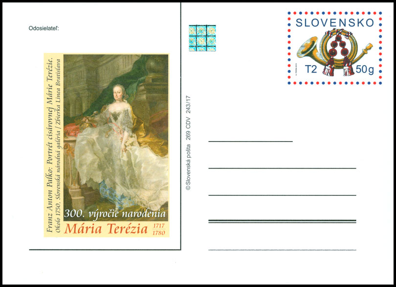 300th birth anniversary of Maria Theresa