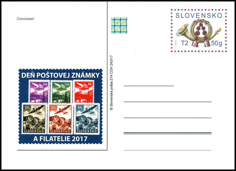 Day of Postage Stamp and Philatelie 2017