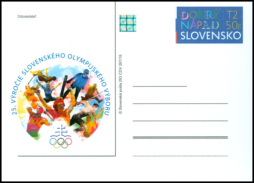 25th anniversary of the Slovak Olympic Committee