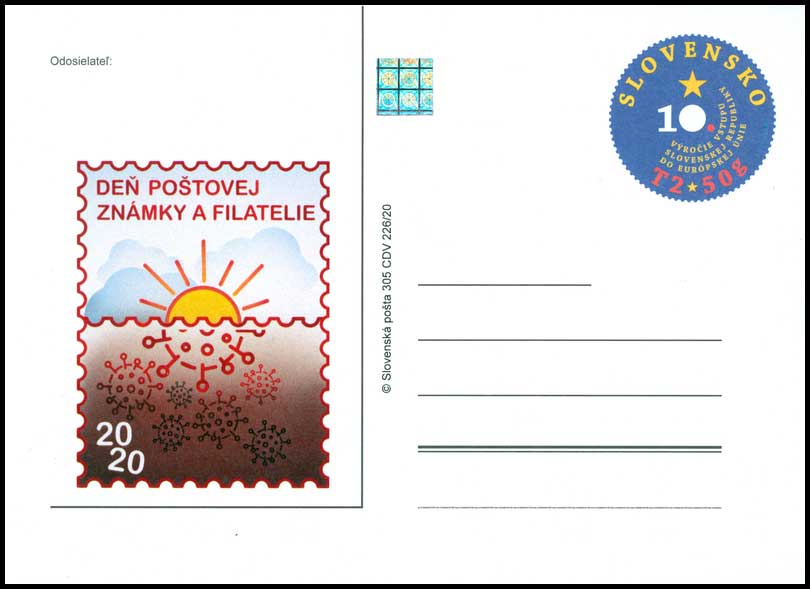 Day of postage stamp and philately 2020
