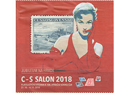 Jubilee Philatelic Exhibition C-S SALON 2018 in Bratislava