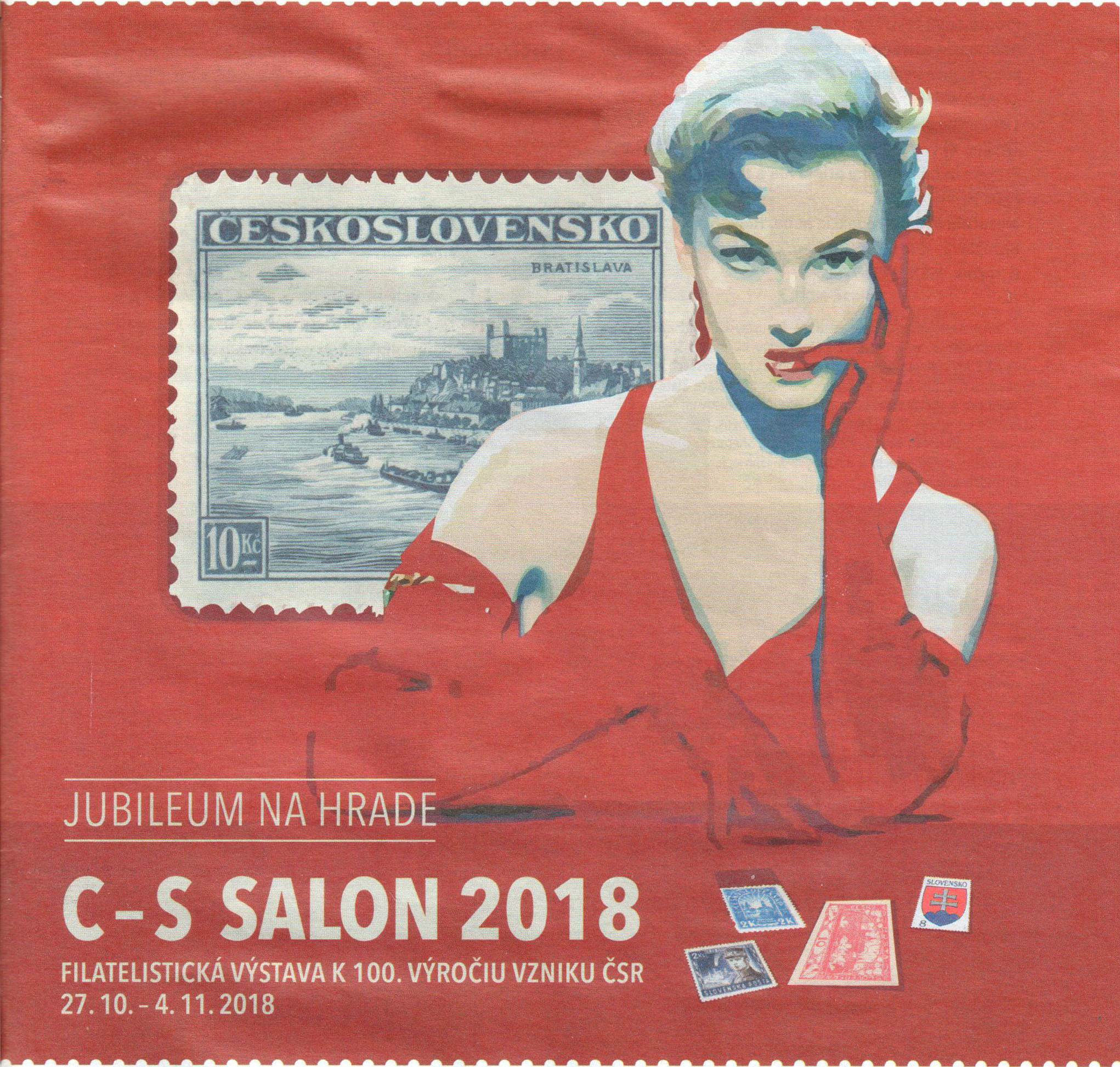 Philatelic Exhibitions Jubilee Philatelic Exhibition C-S SALON 2018 in Bratislava