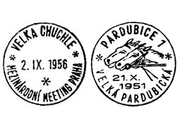 Commemorative postmarks with the horse races thema from the Czechoslovak territory (Part 4)