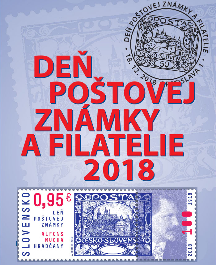 Events of Slovak Philat. Union (ZSF) Day of postage stamp and philatelie 2018 in Bratislava
