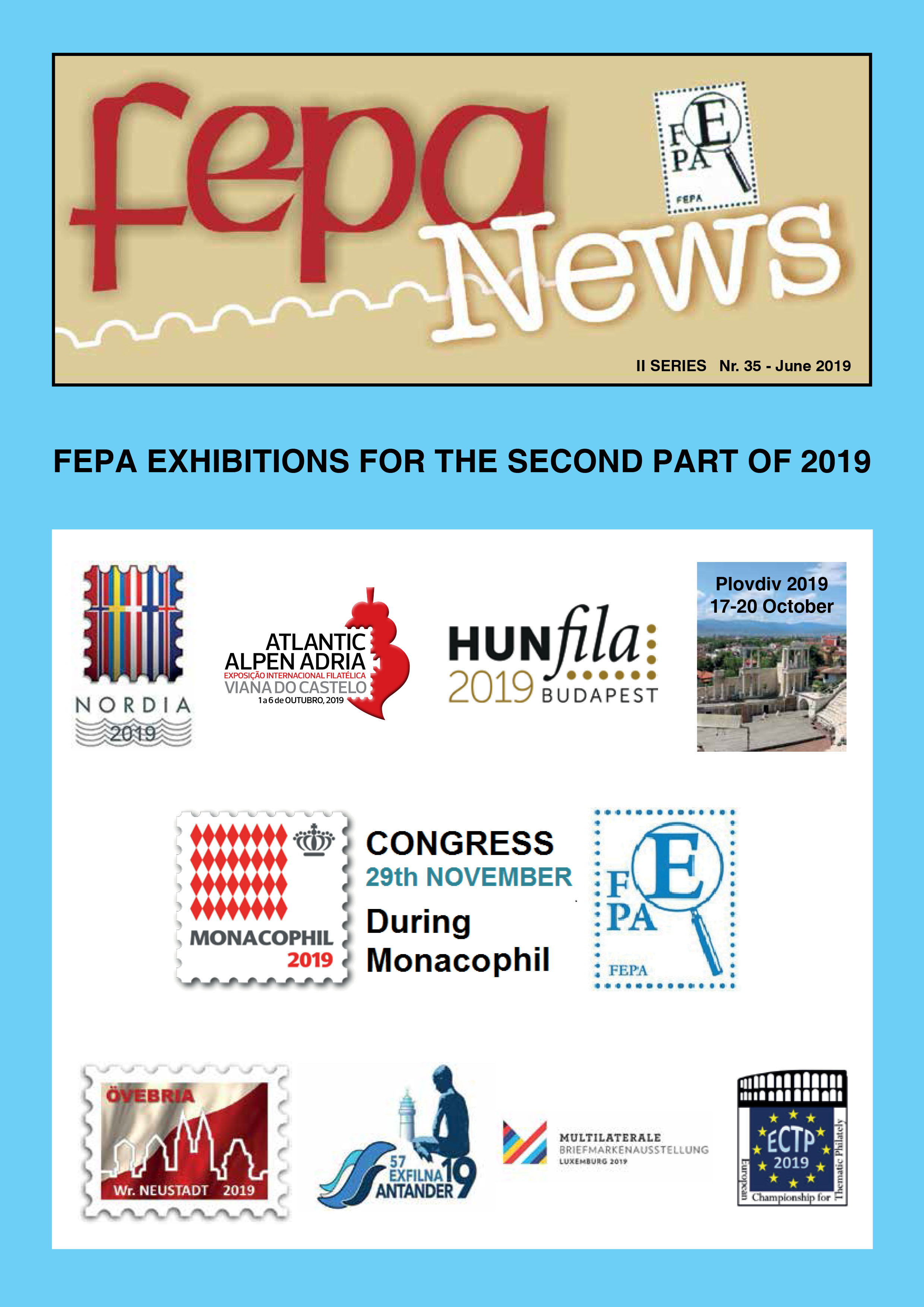 New issue of the journal FEPA NEWS II Series No. 35 � June 2019