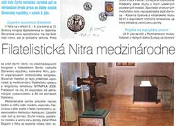 Philatelic Nitra internationally
