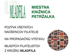 Opening of the promotional exhibition of young philatelists exhibits MLADFILA 2015
