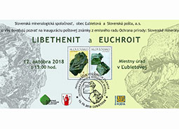Ceremonial inauguration of the postage stamps Nature protection: Slovak minerals