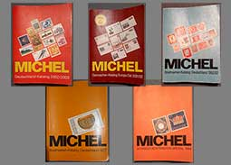 Offer of older catalogs MICHEL (Germany, Switzerland, Liechtenstein, ...)