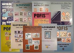 Offer of older catalogs - Czechoslovakia, Slovakia, Slovak state, Czech Republic, Protectorate of Bohemia and Moravia