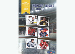 Canada Post issued stamps with Crosby and other legends