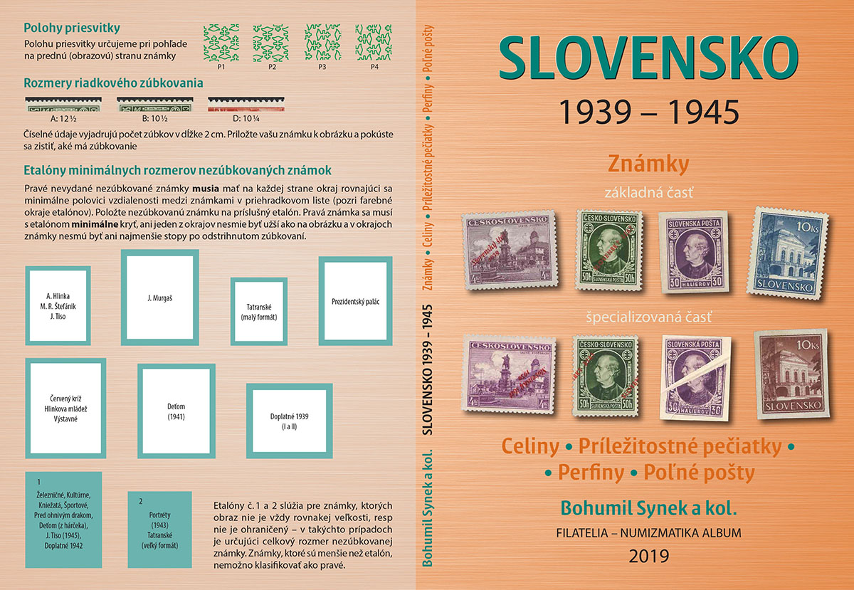 Books, magazines and other publications New specialized catalog SLOVAKIA 1939 - 1945! Is there a reason why we should have it?