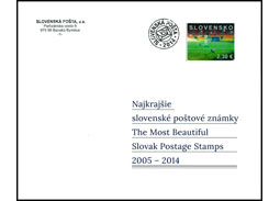 Tomáš Drucker et al.: The Most Beautiful Slovak Postage Stamps 2005 - 2014 (book review)