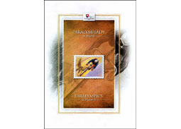 Issue of  the book PARALYMPIJSKE HRY vo filatelii / PARALYMPIC GAMES in Philately