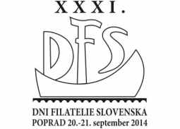 Those were the XXXI Slovak Philately Days 2014 in Poprad
