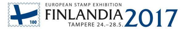 Exhibitions, competitions and other events Offer to submit exhibits on the European Stamp Exhibition FINLANDIA 2017