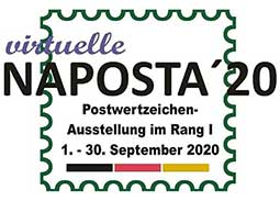 Virtual National Stamp Exhibition NAPOSTA 2020 (Germany)