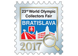 23rd World Olympic Collectors Fair in Bratislava (Slovakia)