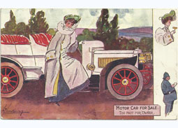 Little school of deltiology (20): Advertisements on postcards
