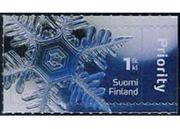 Minerals on stamps (III.) - Ice - one of the most common minerals on stamps