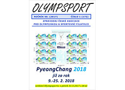 New issue of the newsletter OLYMPSPORT 2017/1 (172)