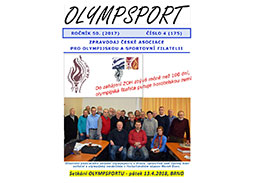 New issue of the newsletter OLYMPSPORT 2017/4 (175)